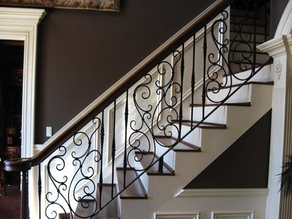 How much is metal stair railing?