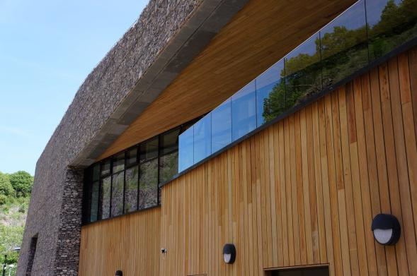 What is composite timber cladding?