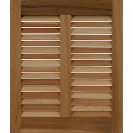 Bulk price of outdoor wooden louvers
