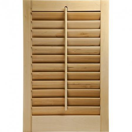 Outdoor wooden louvers Wholesale price