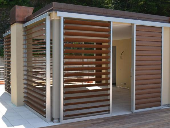 Positive features of outdoor wooden louvers