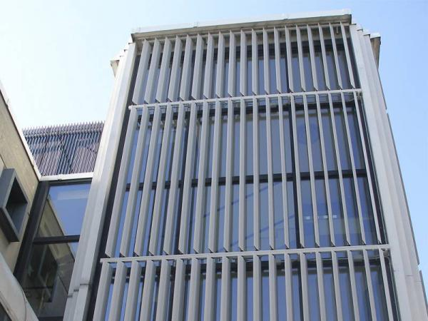 Vertical louver facade Price Fluctuation